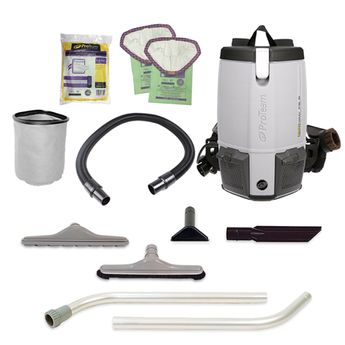 Proteam Provac Fs 6 Commercial Backpack Vacuum Cleaner Pvfs6 Proteam Backpack Vacuums